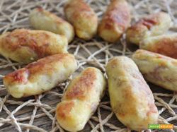 Crocchette di patate e tonno affumicato