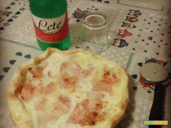 TORTA BRISÈE COTTO E MOZZARELLA