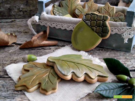 Biscotti foglie autunnali supergolosi