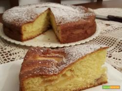 Torta Mele e Mascarpone – senza burro e senza olio!
