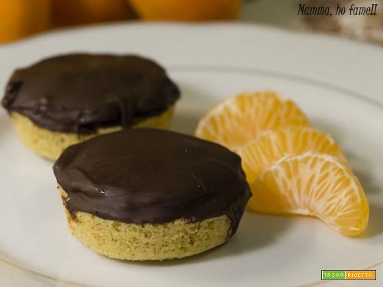 mini Jaffa cake – ricetta Re-Cake
