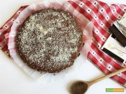 Torta Tentazione al cioccolato e cocco
