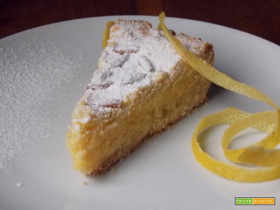 La torta della nonna con pasta drolla