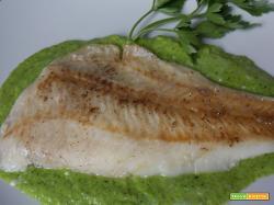 Filetti di merluzzo in salsa verde