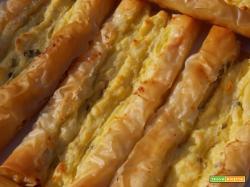 Involtini di patate in pasta filo