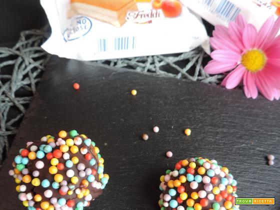 Bon bon pan di spagna e cioccolato ( Freddi Dolciaria)