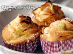 Muffins alle mele buoni e senza burro