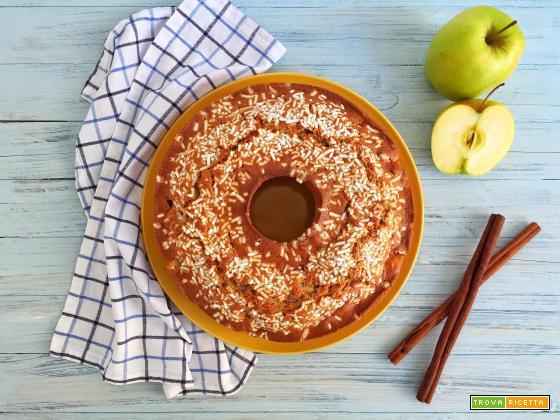Ciambella alle mele e cannella