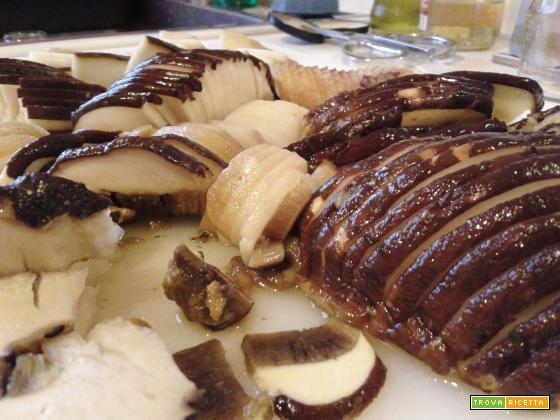 Funghi porcini con lardo