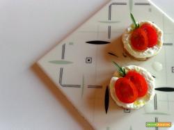 Mini cheesecake bufalina