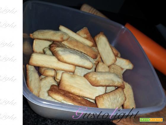 Biscotti light senza uova e burro