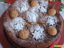 Cheesecake alla zucca e amaretti