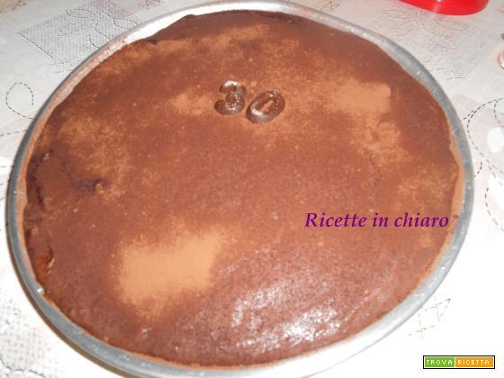 Torta cioccolatosa fredda