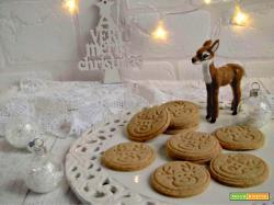 Una simpatica renna per i biscotti di Natale
