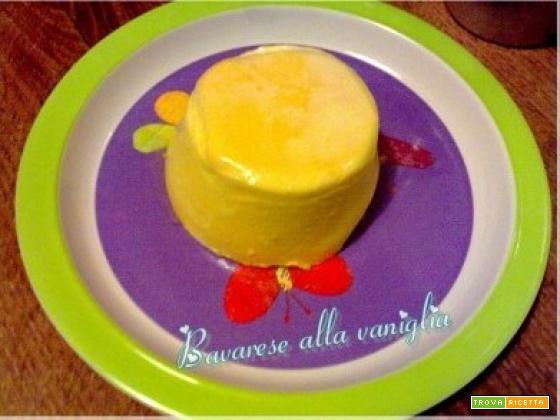 Bavarese alla vaniglia
