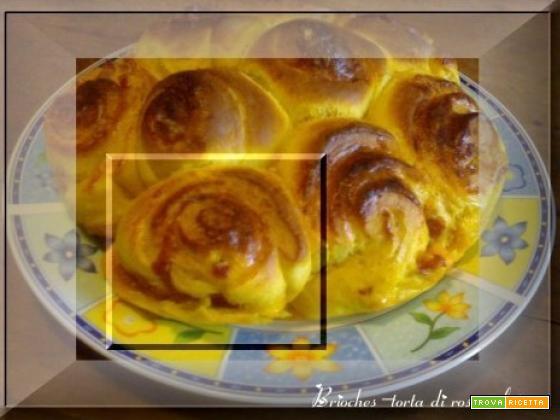 Brioche-torta di rose salata