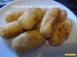 Crocchette di patate con würstel