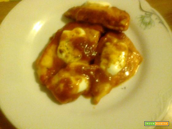 Fettine alla pizzaiola