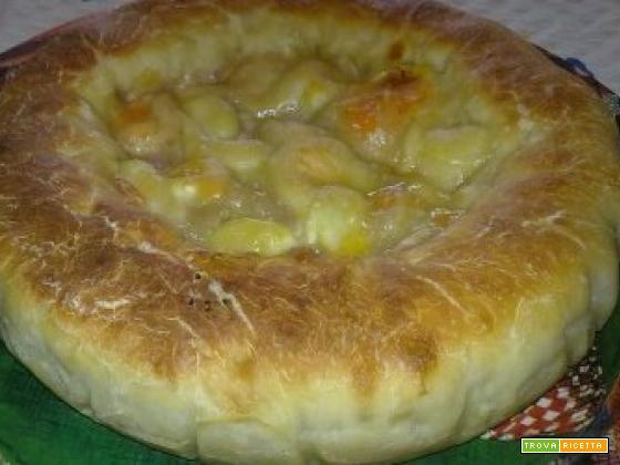 Pizza alla ricotta