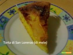Torta di San Lorenzo (di mele)