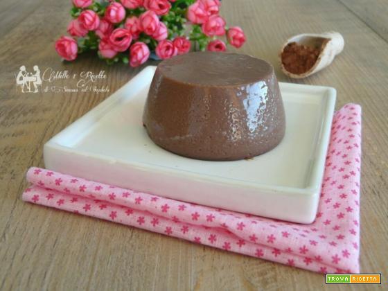 Budino al cacao light, senza zucchero