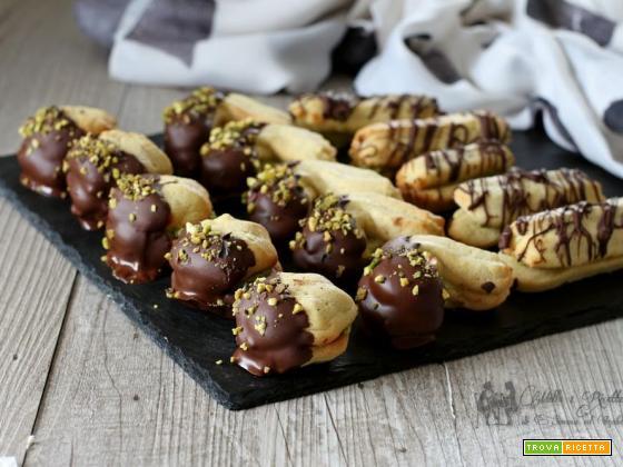 excelsior con crema al pistacchio biscotti da te