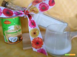 Latte di cocco da latte concentrato