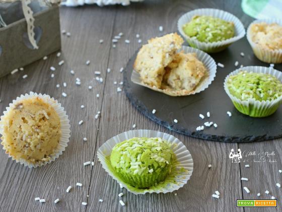 Muffin nocciola e pistacchio- dolcetti3 soffici e molto buoni