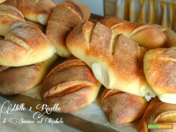 Pane di semola rimacinata,con lievito madre (24 h di lievitazione)