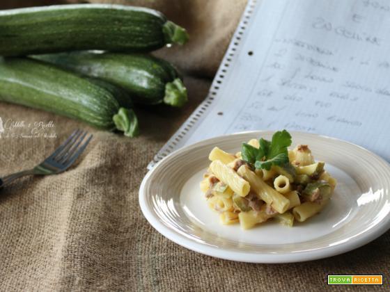 Sedanini tonno e zucchine