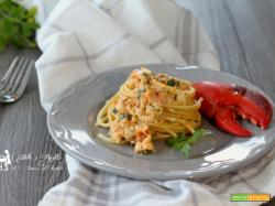 Spaghetti in salsa di Astice