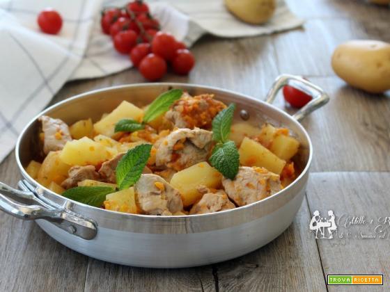 Spezzatino e patate in umido