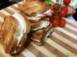 Toast con prosciutto cotto