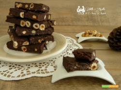 Torrone al cioccolato morbido,come farlo in casa