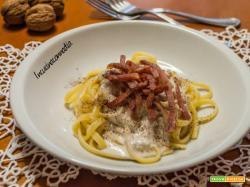 Pasta speck e noci una ricetta dal sapore di montagna