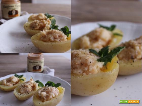 Patate ripiene al burro di arachidi … da provare!!!