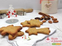 Biscotti natalizi senza glutine, senza zucchero e senza lattosio