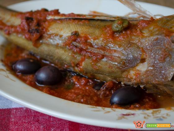 Gallinelle alla pizzaiola con olive e capperi