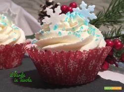 Winter cupcakes alle pere, con mela e cannella