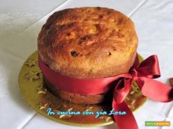 Panettone dolce classico ricetta facile