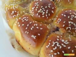 Danubio salato sofficissimo – prosciutto mozzarella pate' olive