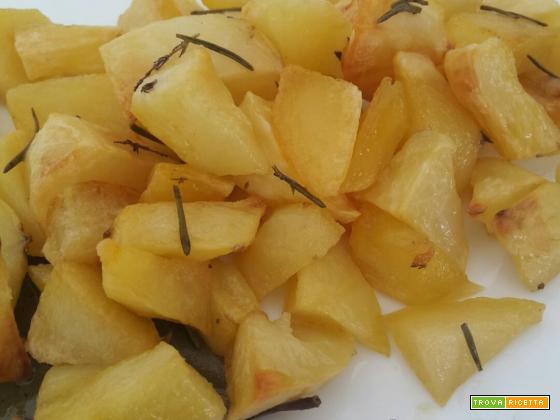 Patate al forno croccanti – semplici e gustose