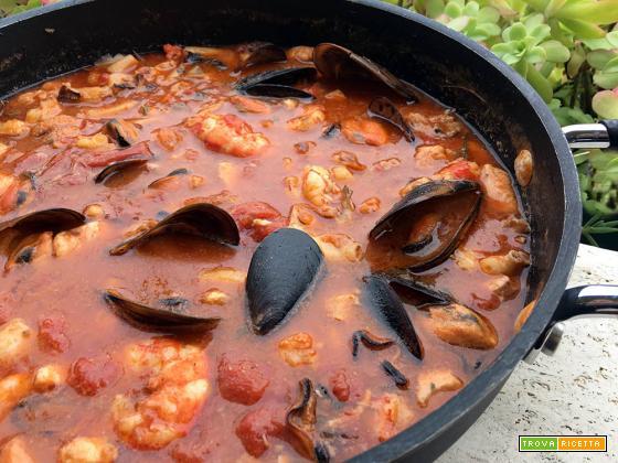 Zuppa di pesce, ricetta facile