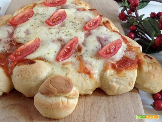 Pizza alberello di Natale