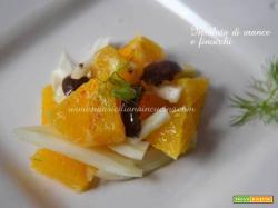 Insalata siciliana di arance e finocchi