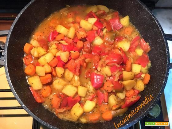 Peperonata (La vècia – la vecchia) sapori e colori in cucina