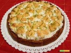 Key lime pie o Torta al lime