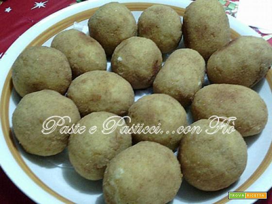 Arancine siciliane,ricetta della rosticceria