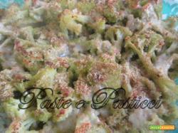 Broccolo (cavolfiore) gratinato.