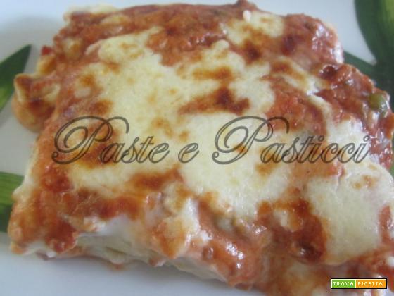 Cannelloni con ragù e besciamella.
